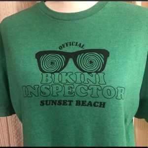 "❤️ NWOT ""Official Bikini Inspector"" T-Shirt Size L"